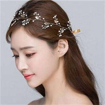 2017韩式新娘发型教程 新娘婚礼简单造型-2017韩式新娘发型教程图片